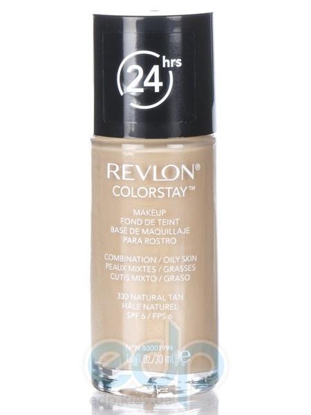 Тональный крем стойкий для комбинированной/жирной кожи Revlon - Colorstay Makeup with Softflex №330 Натуральный загар