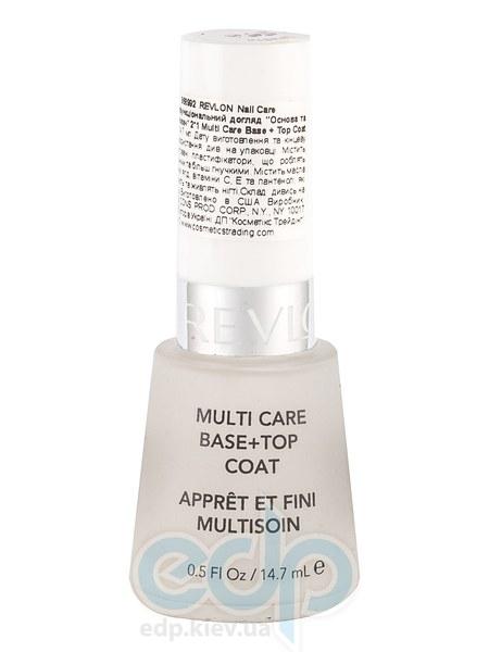 Средство для ухода за ногтями: основа и закрепитель Revlon- 14.7 ml