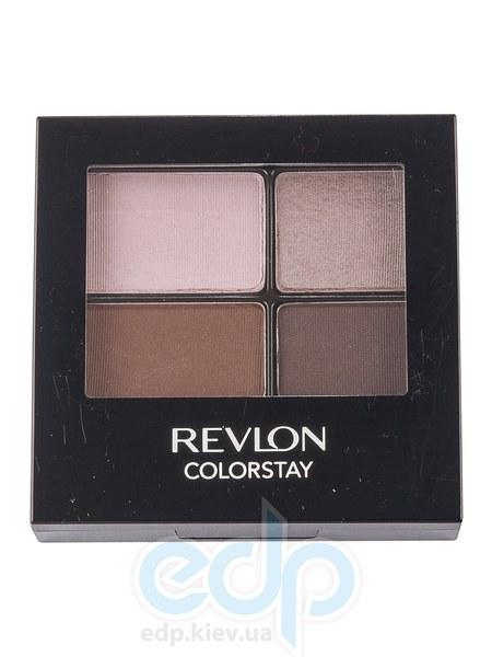 Тени для век cтойкие 16-часовые Revlon - Colorstay №545 Уязвимый