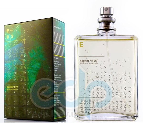 Escentric Molecules Escentric 03 - туалетная вода - 100 ml TESTER