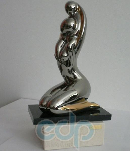 Galos (статуэтки) Статуэтки Galos (Испания) - Элегия - 24 x 13 см. (фарфор, покрытие платиной, золотом)