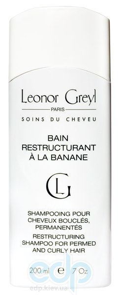 Leonor Greyl -  Восстанавливающий шампунь для волос с химической завивкой Bain Restructurant a la Banane - 200 ml