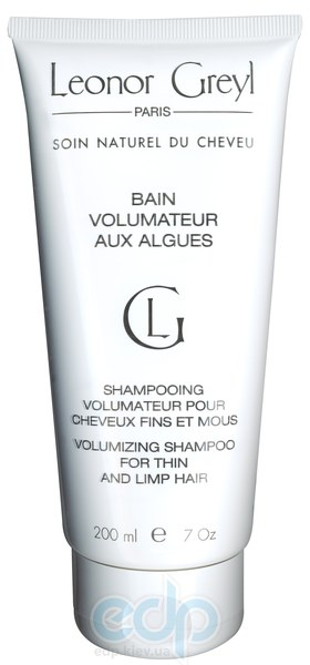 Leonor Greyl -  Шампунь с водорослями для придания объема и силы Bain Volumatuer aux Algues - 200 ml