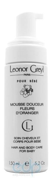 Leonor Greyl -  Детский шампунь Mousse Douceur Fleurs Doranger Baby - 150 ml