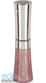 Блеск для губ увлажняющий Loreal - Glam Shine №14 Gem Crystal/Мерцающий рай - 6ml