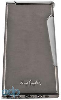 Pierre Cardin - Зажигалка газовая кремниевая турбо хром (арт. MFH-276-02)