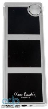 Pierre Cardin - Зажигалка газовая кремниевая черный лак хром (арт. MFH-401-01)
