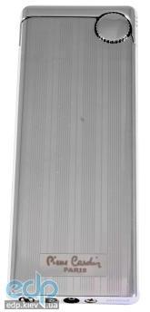 Pierre Cardin - Зажигалка газовая кремниевая хром с насечкой (арт. MFH-401-02)