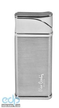 Pierre Cardin - Зажигалка газовая турбо серебро (арт. MFH-67B-01)