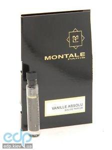 Montale Vanille Absolu - парфюмированная вода - пробник (виалка) 2 ml
