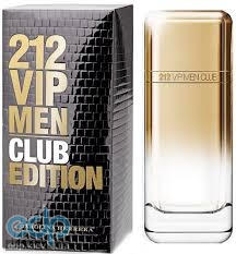 Carolina Herrera 212 VIP Club Men - туалетная вода - 100 ml