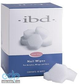 ibd - Nail Wipes безволоконные спонжи - 80 шт