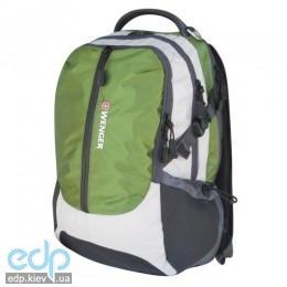 Wenger - Рюкзак School pack для ноутбука серый/чёрный/зеленый 36 х 17 х 48 см (арт. 15904415)