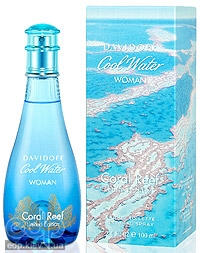 Davidoff Cool Water Woman Coral Reef Edition - туалетная вода - 125 ml