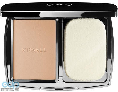 Chanel - Крем-пудра для лица компактная увлажняющая Vitalumiere Compact Douceur SPF10 № 40 Beige  - 13 gr