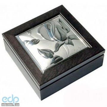 Pierre Cardin - шкатулка  Rose 8.5 x 8.5 см цвет-венге (арт. PCRO13Q/1W)