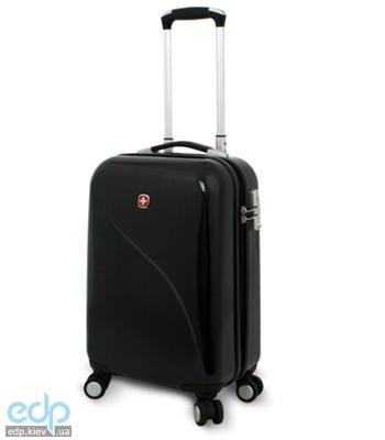 Wenger - Чемодан EVO LITE Pilot Case 19 черный, поликарбонат, 48 х 34 х 22 см объем 35 л (арт. 72012221)