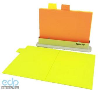 Fissman - Набор досок на подставке 3 штуки 33 х 25 см пластик (AY-7237.CB)