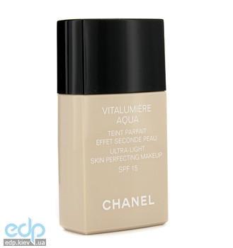 Chanel - Тональный крем  Vitalumiere Aqua SPF15 № 40 Beige - 30 ml