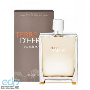 Hermes Terre d'Hermes Eau Tres Fraiche - Набор (туалетная вода 100 ml + mini 12.5 ml + после бритья 40 ml)