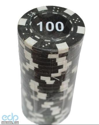 Настольная игра - Набор для покера Duke 25 фишек, номинал 100 (арт.MA05)