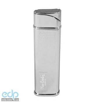 Pierre Cardin - Зажигалка газовая пьезо, серебро с насечкой (MF-65B-31)