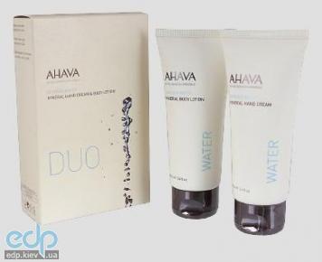 Ahava - Набор Дуэт увлажняющий (руки и тело) - Kit Duo Water Hand & Body - 100 ml 2013