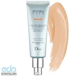 Christian Dior - Крем для лица увлажняющий, защитный, выравнивающий тон для всех типов кожи - Hydra Life BB Creme SPF 30 №001 - 50 ml