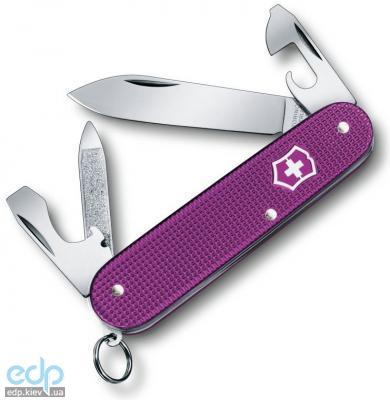 Victorinox - Складной нож Pioneer Alox Limited Edition 2016 - 93 мм, 8 функций Фиолетовый (08201.L16)