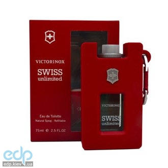 Victorinox Swiss Unlimited Red - туалетная вода - 75 ml TESTER