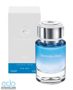 Mercedes-Benz For Men Sport - туалетная вода - 75 ml