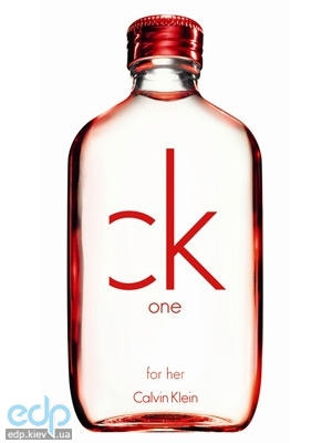 Calvin Klein CK One Red Edition for Her - туалетная вода - 100 ml TESTER