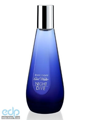 Davidoff Cool Water Night Dive Woman new 2014 - туалетная вода - 50 ml