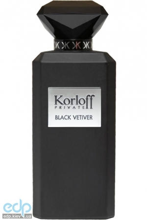 Korloff Paris Black Vetiver - туалетная вода - 88 ml TESTER