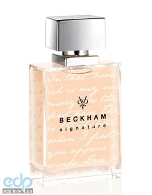 David Beckham Signature Story for Her - туалетная вода - 75 ml