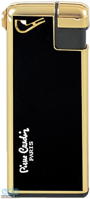 Pierre Cardin - Зажигалка газовая пьезо для трубок золото/черный лак (арт. MF-19(7))