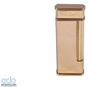 Pierre Cardin - Зажигалка газовая кремниевая золото с насечкой (арт. MF-64C-02)