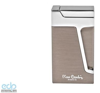 Pierre Cardin - Зажигалка газовая кремниевая турбо сталь/хром (арт. MFH-272-04)