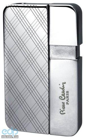 Pierre Cardin - Зажигалка газовая пьезо хром с гравировкой (арт. MFH-347-4)