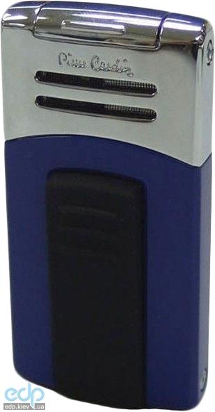 Pierre Cardin - Зажигалка газовая турбо синий лак/хром (арт. MF-202-02)