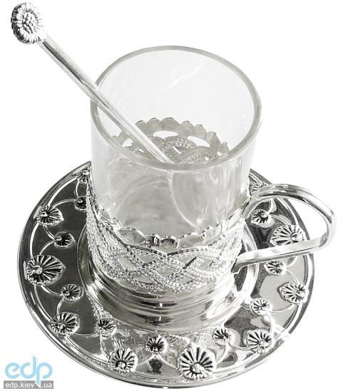 Lessner - Silver Набор для чая 3 предмета (арт. ЛС99106)