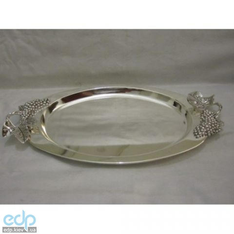 Lessner - Поднос овальный Silver 41.5х25.8 см (арт. ЛС99134)