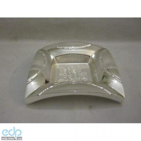 Lessner - Silver Пепельница 11х11х2.5см (арт. ЛС99136)