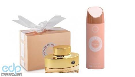 Sterling Vanity Essence - набор (парфюмированная вода 100 ml + лосьон для тела 100 ml + дезодорант спрей 200 ml)