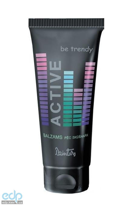 Dzintars (Дзинтарс) - Бальзам после бритья Be Trendy Active - 125 ml (29017dz)