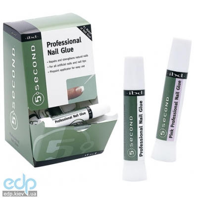 ibd - Professional Nail Glue клей с носиком прозрачный - 2 g