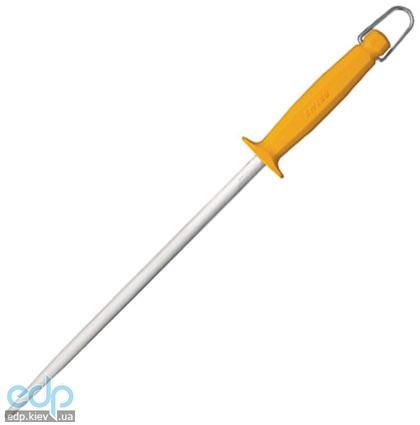 Wenger - Мусат для заточки ножей Swibo 30 см стальной, круглый желтый (арт. 2.81.30)