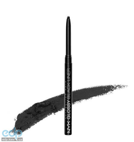 NYX - Блестящий черный карандаш Collection Noir Glossy black liner NYX BEL01 - 0.28 g