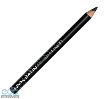 NYX - Collection NoirKohl Satin Finish Black Liner Черный карандаш BEL03 - 1.14 g