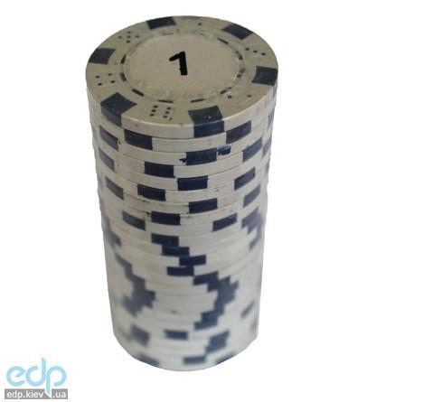 Настольная игра - Набор для покера Duke 25 фишек, номинал 1 (арт. MA01)